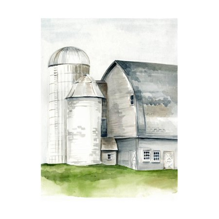 Watercolor Barn II Print Wall Art By Jennifer Paxton Parker (Gr8 Art)