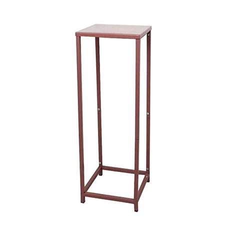 Koyal Wholesale Rose Gold Modern Flower Stand, Metal Floral Pedestal Stand for Wedding Centerpieces