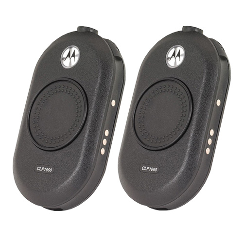 Motorola CLP1060 (2 Pack) Two Way Radio - Walkie Talkie