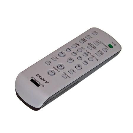 OEM Sony Remote Control: HCDNE3, HCD-NE3, MHCGX250, MHC-GX250