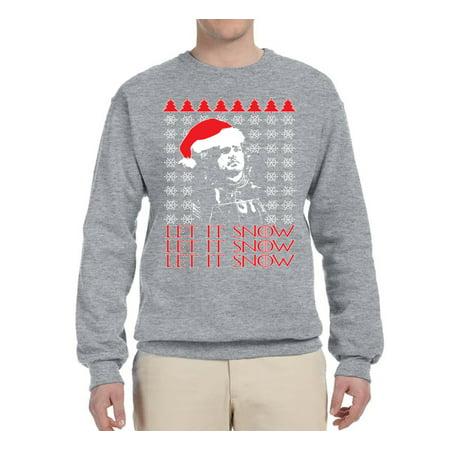 Mens 3x Ugly Christmas Sweater.Let It Snow Jon Snow 3x Got Thrones Ugly Christmas Sweater Mens Christmas Graphic Crewneck Sweatshirt