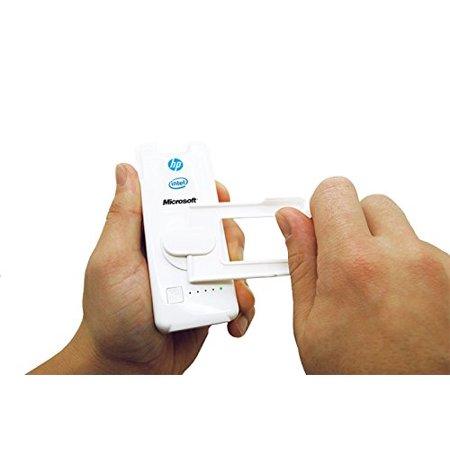 Dynamo Hand Crank Solar Powered 2,200 mAh Power Bank, USB Charger any Cell Phone