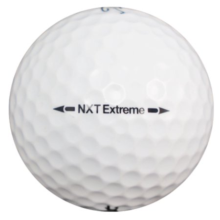 Titleist NXT Extreme - Near Mint (AAAA) Grade - Recycled (Used) Golf Balls - 12 Pack