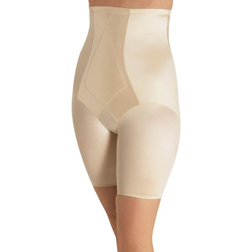 ca6dbac48dd Cupid - Extra Firm High Waist Smoothing Thigh Slimmer - Walmart.com