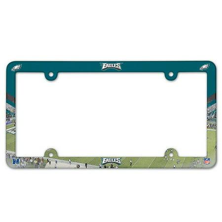 Philadelphia Eagles Full Color Plastic License Plate Frame
