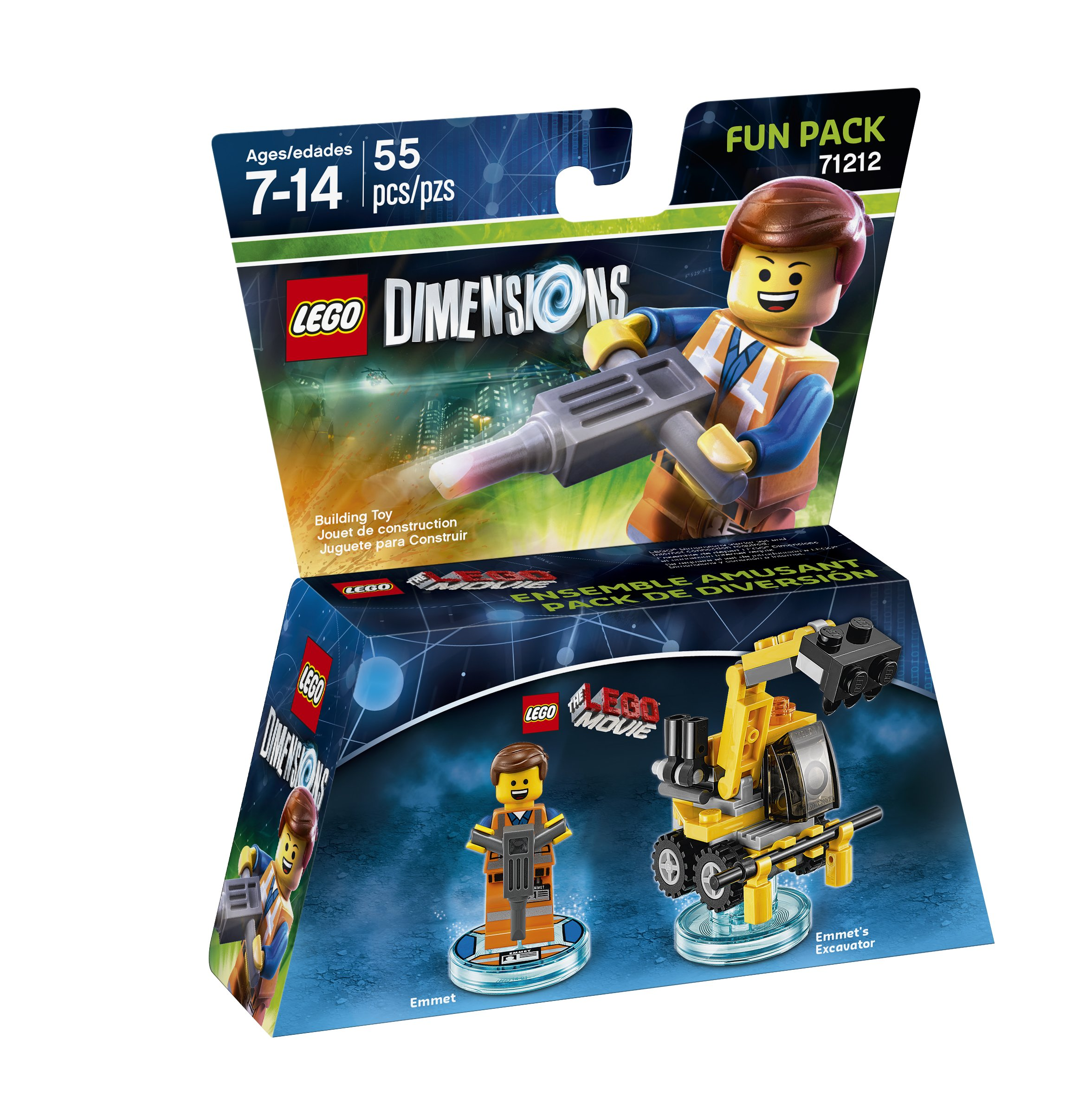 Taketwo Interactive 1000545973 Lego Dim Lego Movie W Emmet