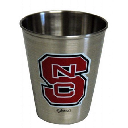 NCAA North Carolina State Wolfpack Shotglass Stainless Steel, Great for Every Fan! By Game Day