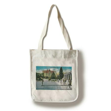 Hotel Del Monte Swimming Tank and Solarium (100% Cotton Tote Bag - Reusable) ()