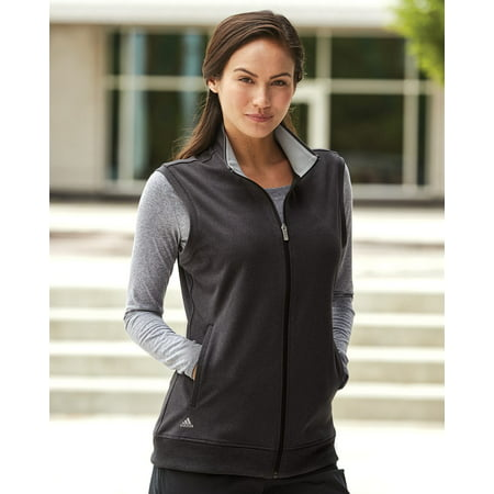 Adidas Full Zip Vest (Adidas - Women's Full-Zip Club Vest -)