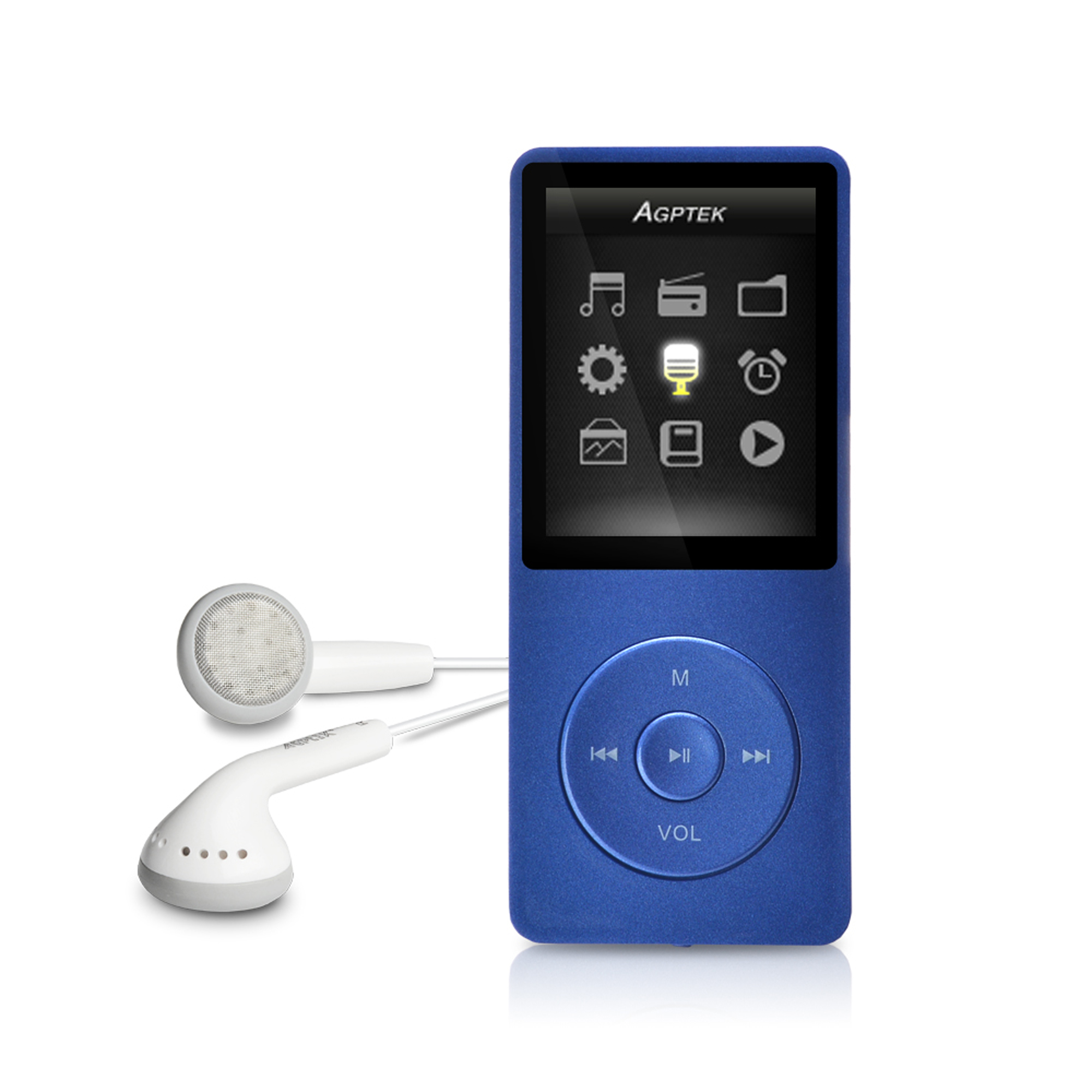 Agptek 8gb Lossless Sound Mp3 Player Entry Level Hi Fi Music Player