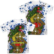 Atari - Insect Attack (Front/Back Print) - Short Sleeve Shirt - XX-Large