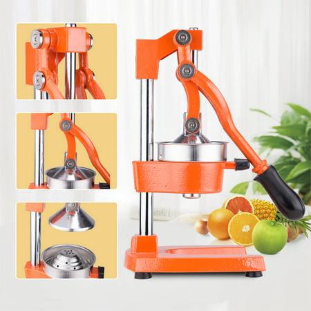 Commercial Grade Citrus Juicer Hand Press Manual Fruit Juicer Juice Squeezer Citrus Orange Lemon Pomegranate