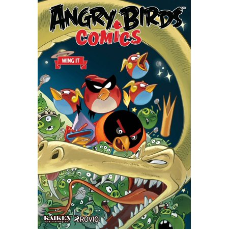 Angry Birds Comics Volume 6: Wing It - Angry Birds Halloween Comic Book