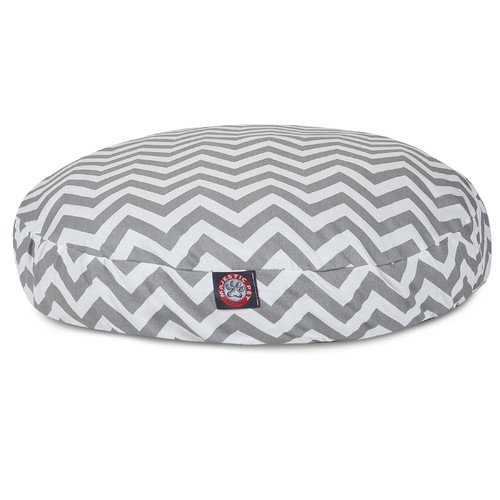 Majestic Pet Products Zig Zag Round Pet Bed