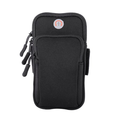 TSV Earphone Hole Design Sport Armband Running Jogging Gym Arm Band Pouch Holder Card Organizer Storage Bag Case For Cell