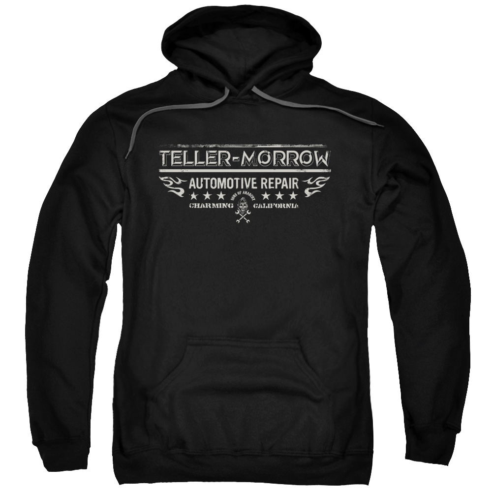Sons Of Anarchy Teller Morrow Mens Pullover Hoodie