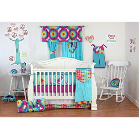 a0fa0de75 One Grace Place Terrific Tie Dye Burp Cloth (Set of 2) - Walmart.com