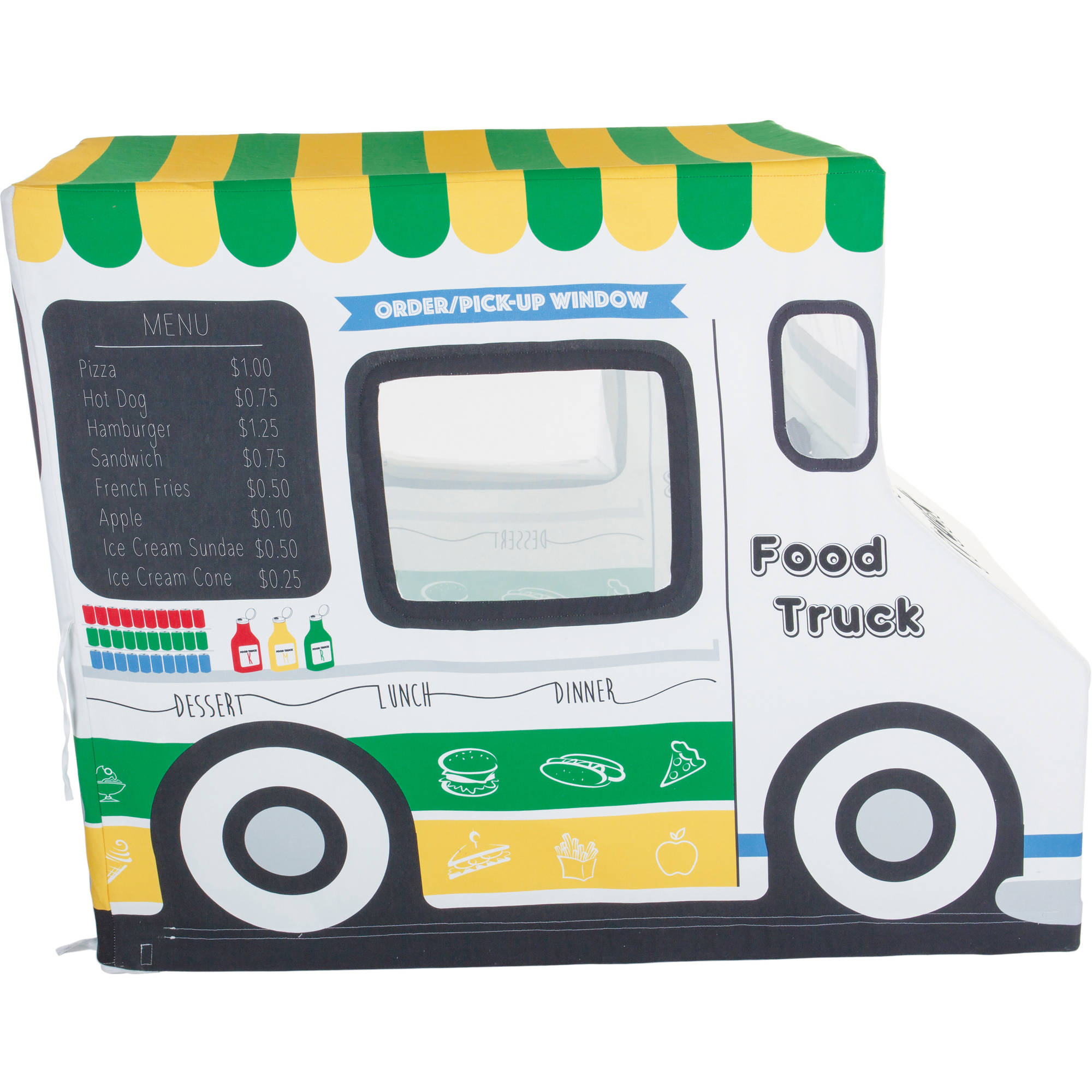 Pacific Play Tents Food Truck Cotton Canvas by Pacific Play Tents