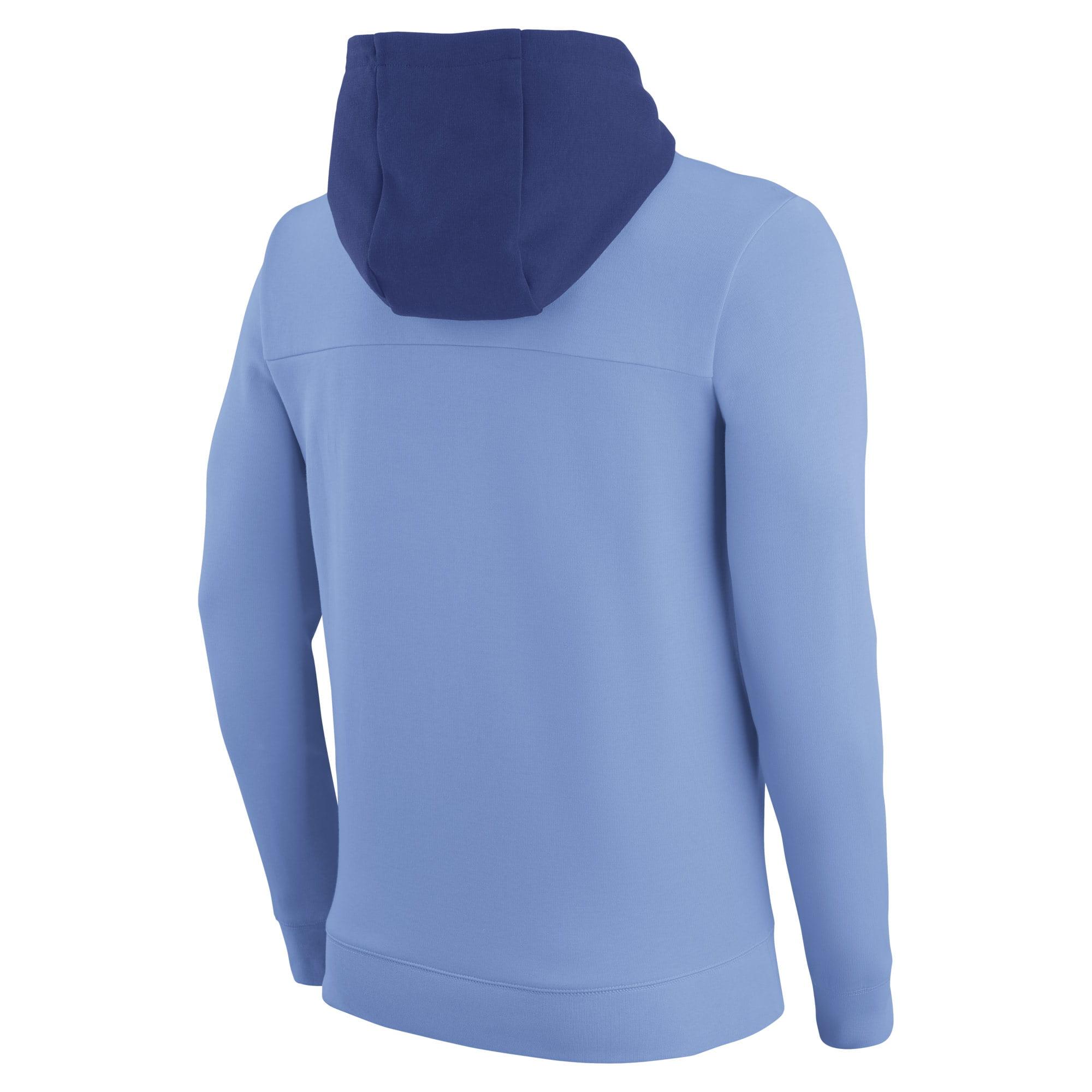 5c5aca467 Men's Nike Light Blue Kansas City Royals AV 2 Fleece Pullover Hoodie -  Walmart.com