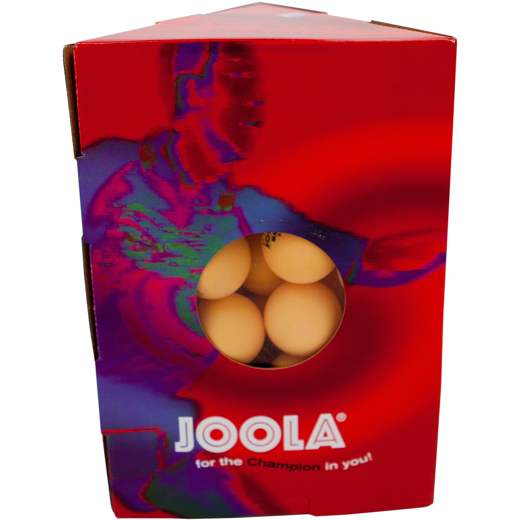 JOOLA Magic 2-Star Training Table Tennis Balls 48 Pack - Orange