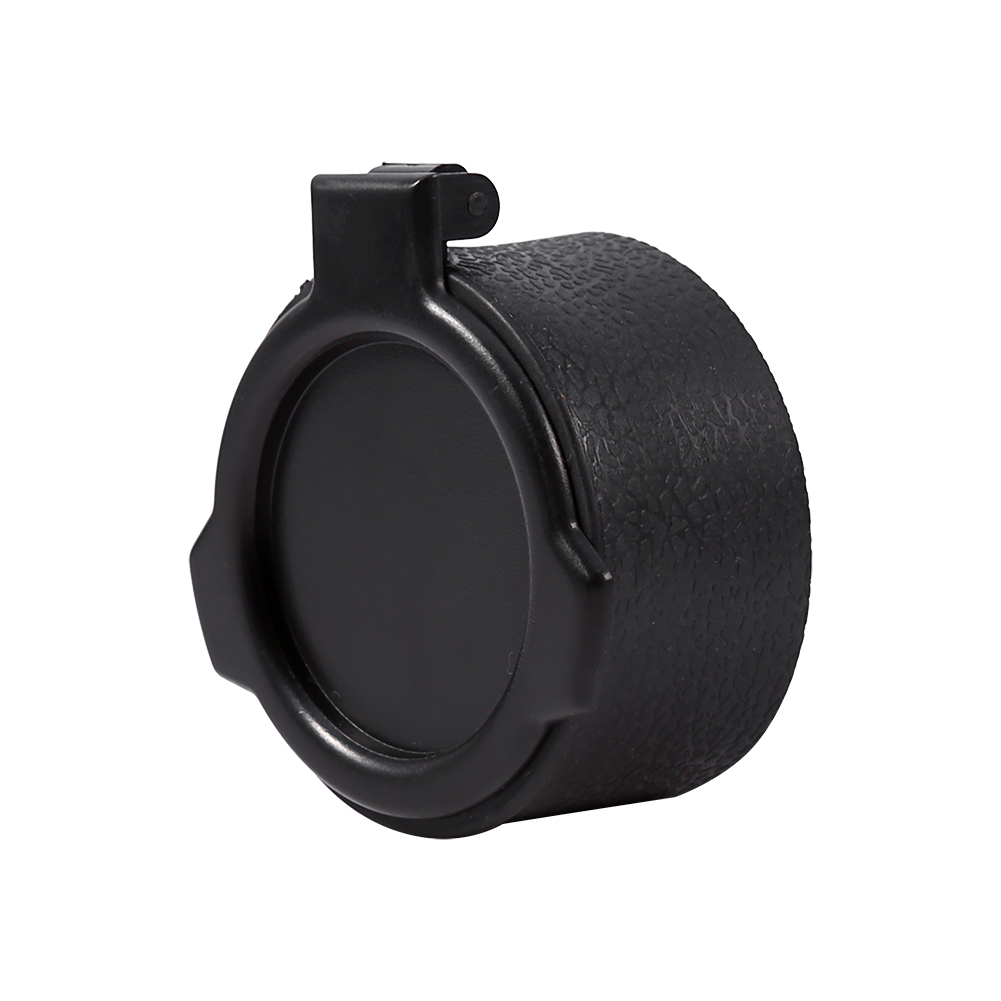 Details about  /Riflescope Lens Cover Flip Up Quick Spring Cap Objective Lense Cover Outdoor