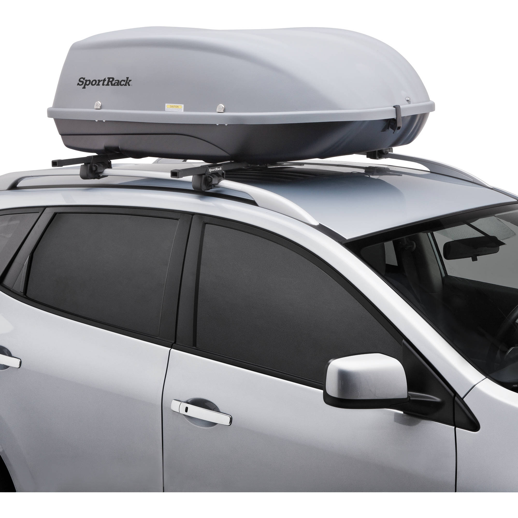 Awesome SportRack SR7095 Skyline XL Roof Mount Cargo Box, 18 Cubic Feet, Black  (Assembly Required)   Walmart.com