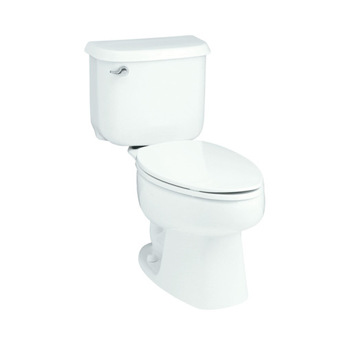 Sterling by Kohler Windham 10'' Rough-In 1.6 GPF Elongated 2 Piece Toilet