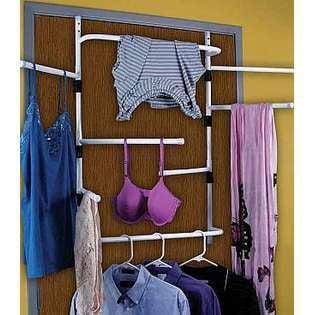 Over The Door Steel Clothes Laundry Dryer Towel Hanging