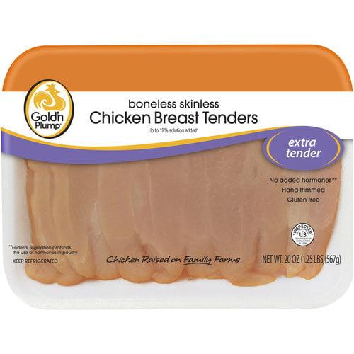 Gold'n Plump Boneless Skinless Chicken Breast Tenders, 20 oz