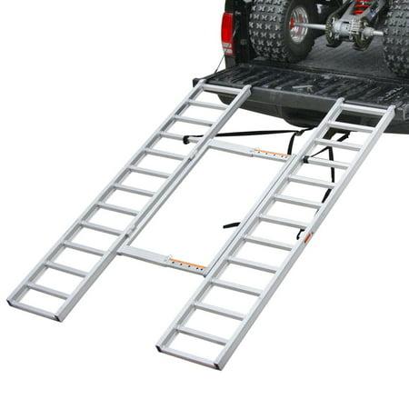 Aluminum Atv Ramps >> Adjustable Width Aluminum Atv Loading Ramps