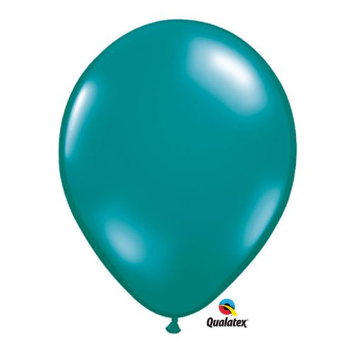 "Burton & Burton 5"" Teal Jewel Tone Balloons, Pack Of 100"