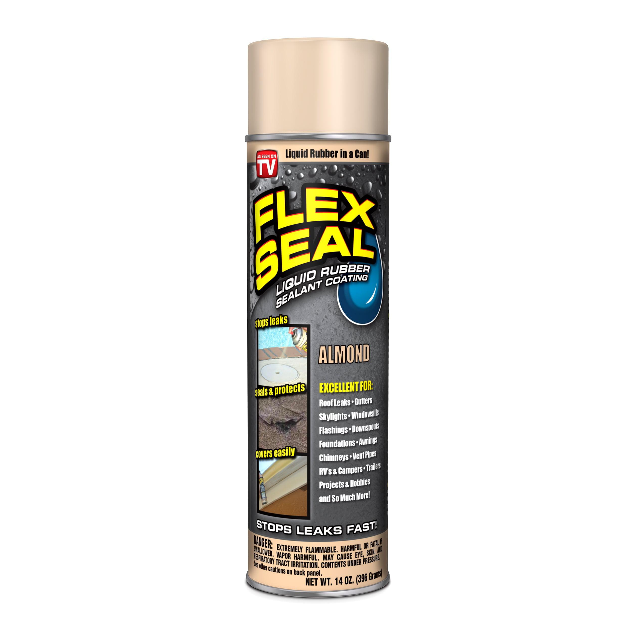 Flex Seal Spray Rubber Sealant Coating, 14-oz, Almond