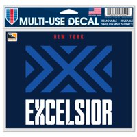 """New York Excelsior WinCraft 5"""" x 6"""" Car Decal"""