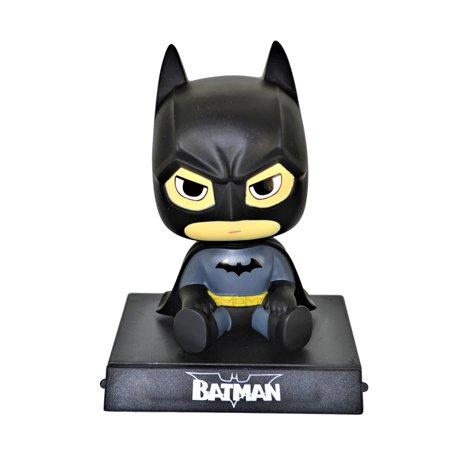 Batman PVC Bobble Head Figure Car Dashboard Office Home Accessories Ultra Detail Doll ()
