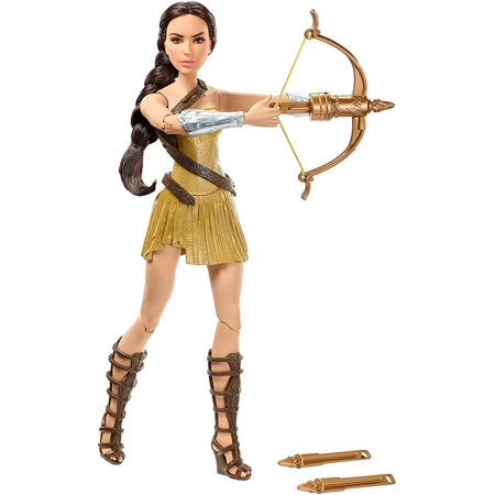 DC Comics Bow-Wielding Wonder Woman Fashion Doll, The most powerful Walmart warrior in the world returns to protect mankind! By