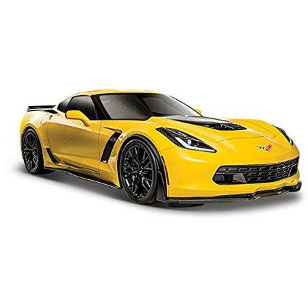 Chevrolet Corvette Museum (2015 Chevrolet Corvette C7 Z06 Yellow 1/24 by Maisto 31133 )