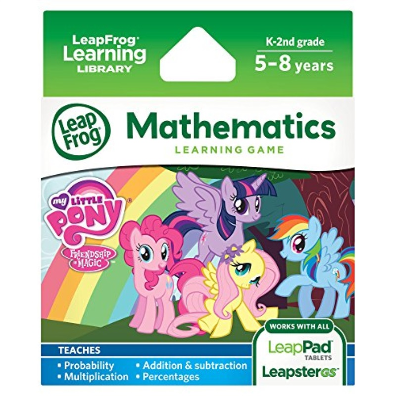 LeapFrog Learning Game: My Little Pony Friendship is Magic(for LeapPad Tilets and... by LeapFrog