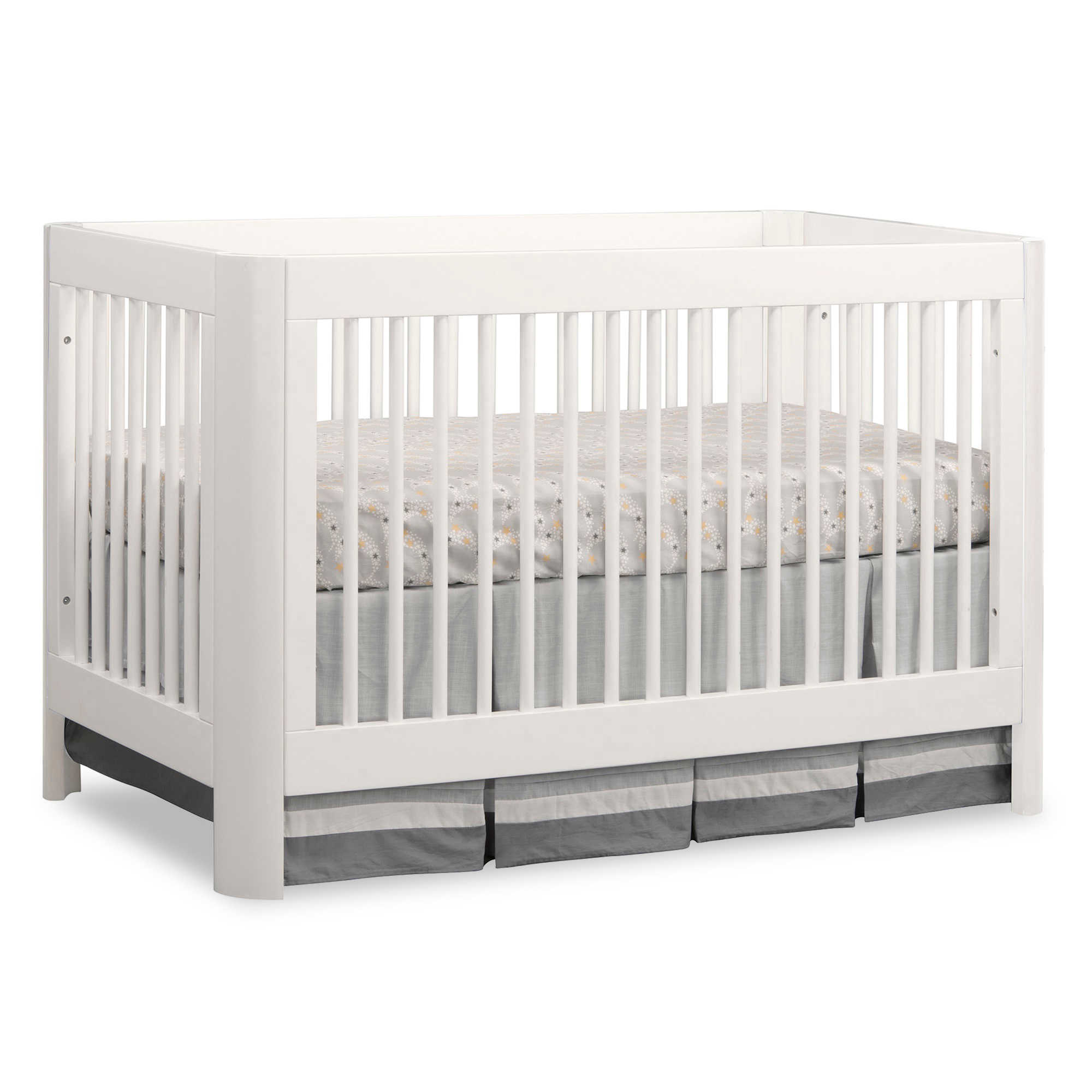 Sorelle Chandler 3 in 1 Convertible Crib, White