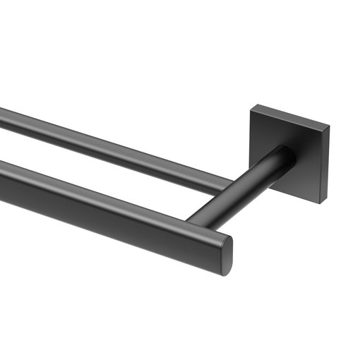 Gatco Elevate Double 24'' Wall Mounted Towel Bar by