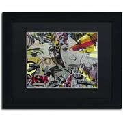 "Trademark Fine Art ""That There Is"" Canvas Art by Dan Monteavaro Black Matte, Black Frame"