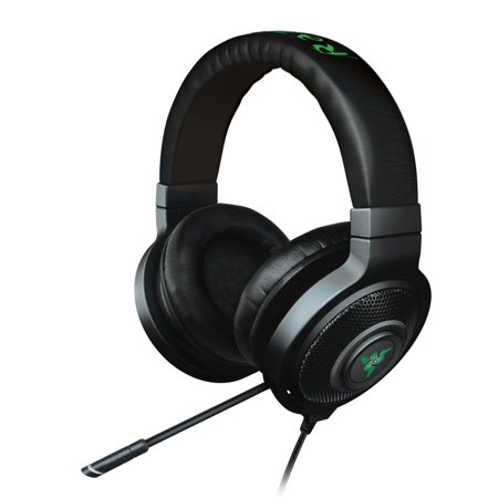 Razer Kraken 7.1 Chroma Sound USB Gaming Headset - 7.1 Surround Sound with Retractable Digital Microphone and Chroma
