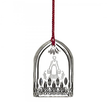 Waterford 12 Days of Christmas Eight Maids a Milking Crystal Ornament Decoration ()