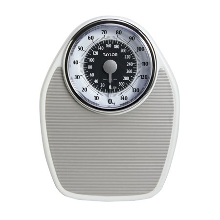 Taylor 1351 large dial mechanical speedometer bath scale - How to calibrate a bathroom scale ...