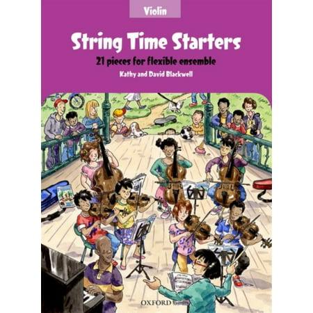 String Time Starters Violin book 21 pieces for flexible ensemble (String Time Ensembles) (Sheet music)
