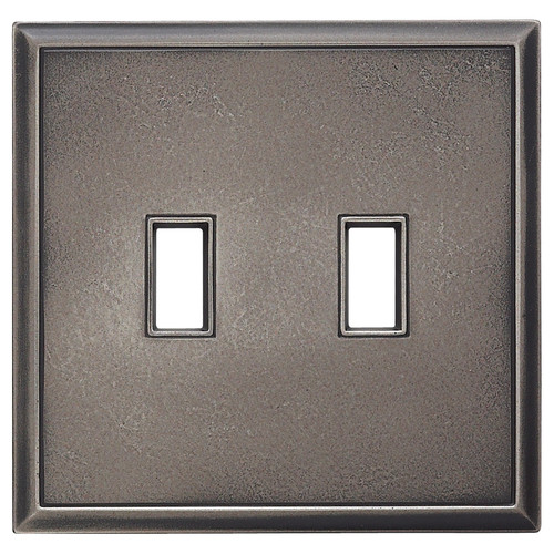 RQ Home Classic Magnetic Double Toggle Wall Plate