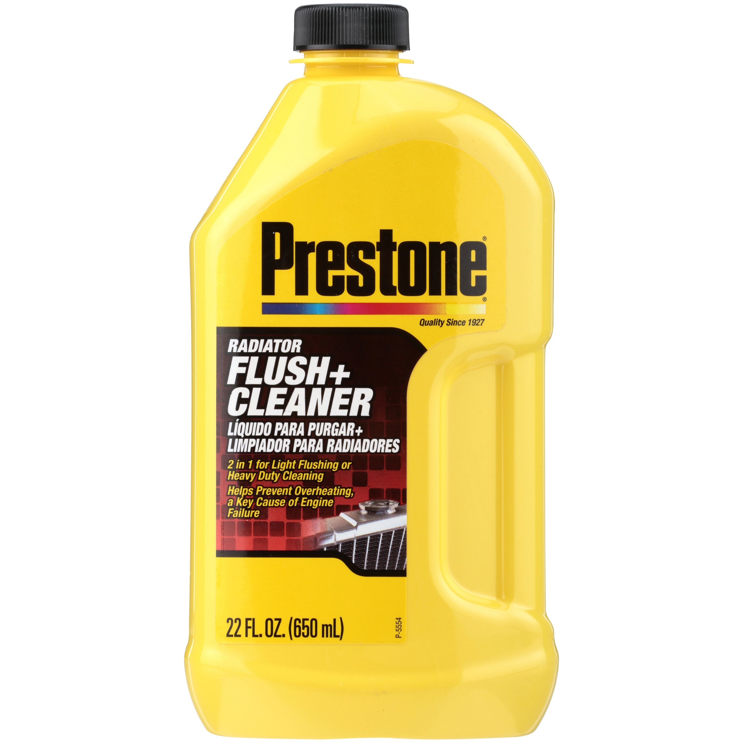 Prestone® Radiator Flush + Cleaner 22 fl. oz. Bottle