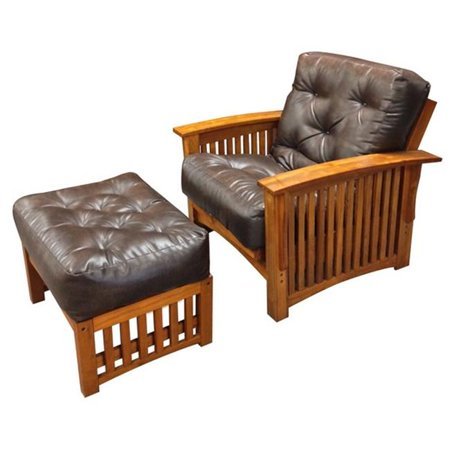 Gold Bond 707 8 in. All Cotton 21 x 28 in. Chair Ottoman Leather, Dark