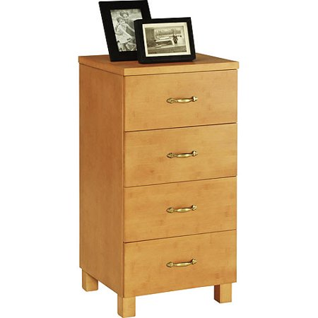 Eco platz 4 drawer file cabinet maple bamboo for Bamboo kitchen cabinets reviews