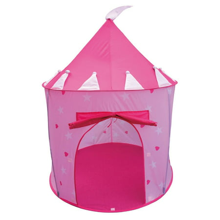 POCO DIVO Princess Castle Fairy House Girls Pink Play Tent - Girl Teepee