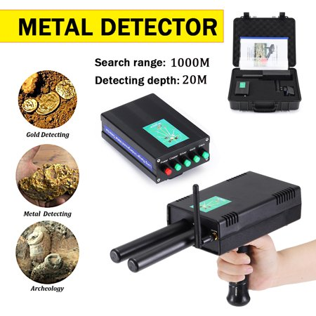 AKS 3D Microcomputer Gold Detector 3280 Feet Long Range 65FT Depth Diamond Detecting Machine Undergroun d Metal Detector Machinery Gold scanner Hunter Finder
